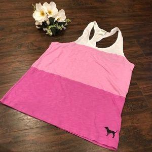 PINK Victoria's Secret Tops - 4/$25 VS PINK | pink ombre racerback tank top